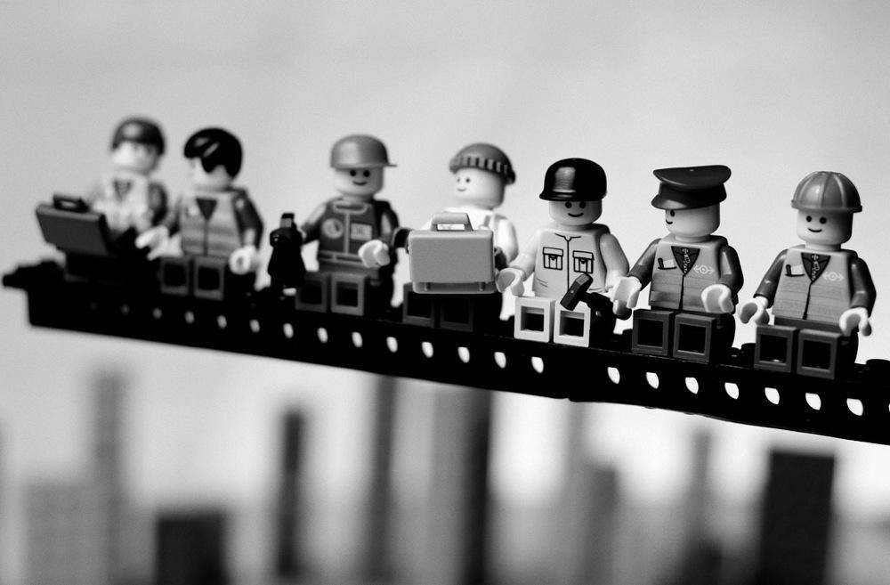 Reclama Lego Ebbets Style