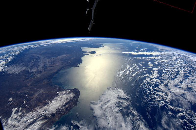André Kuipers/ESA/NASA - Coastele Argentinei