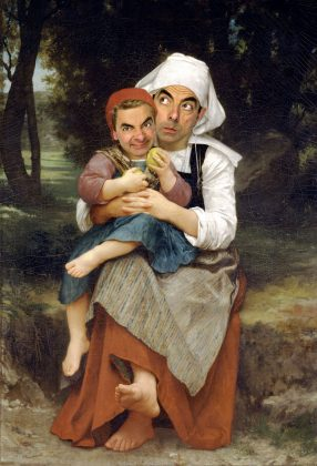 Rodney Pike-Bouguereau Breton Brother ad Sister
