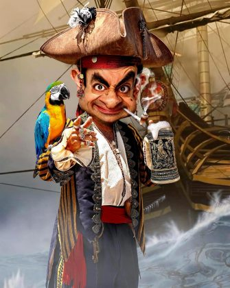 Rodney Pike-Pirate Bean