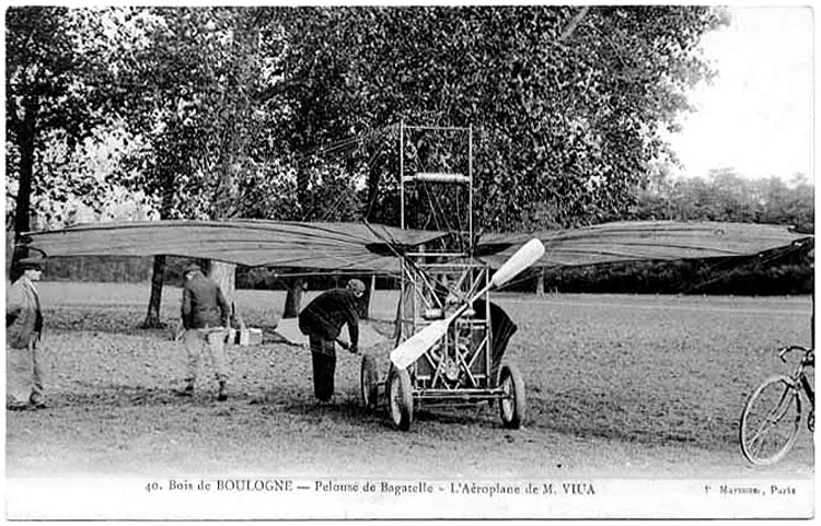 Traian Vuia - Bois de Bulogne -1907