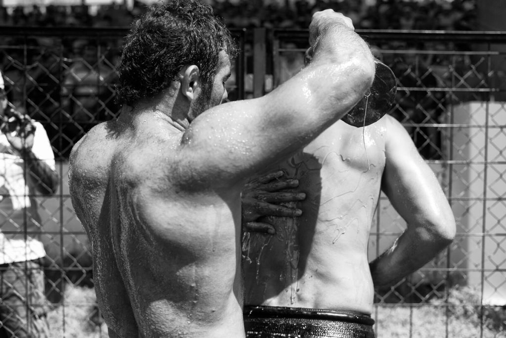 Kirkpinar - oil wrestlers - photo by Tony Melvin photo by Tony Melvin
