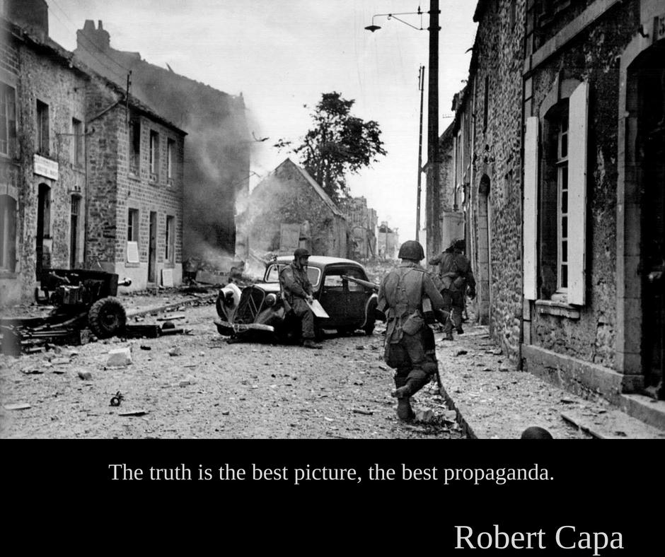 Robert Capa | Adevărul este cea mai bună imagine, cea mai bună propagandă.