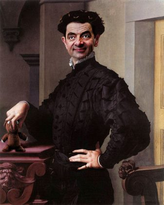 Rodney Pike-Agnolo Bronzino Portrait of a Bean
