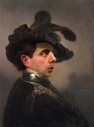 Rodney Pike-Rembrandts Portrait of a Bean