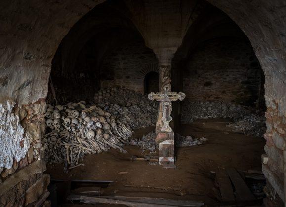 Osuarul Manastirii Marea Lavra - foto Liviu Dumitru