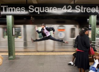 Jordan Matter Times Square, NYC - Jeffrey Smith