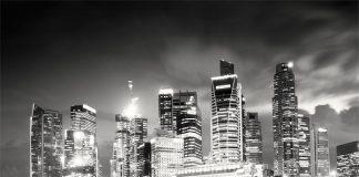 Martin Stavars Singapore Night Skyline 2010