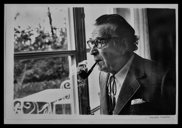 George Simenon foto autor Louis Monier